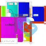 تیپ-85-متریبرج-امام-حسن-مشاورین-مسکن-رسام