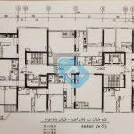 پلان-طبقات-4-واحدی--پروژه-بانک-ملی-مشاورین-مسکن-رسام