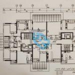 پلان-طبقات-5-واحدی--پروژه-بانک-ملی-مشاورین-مسکن-رسام