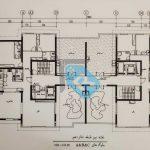 پلان-طبقه-شانزدهم--پروژه-بانک-ملی-مشاورین-مسکن-رسام