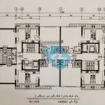 پلان-طبقه-هشتم--پروژه-بانک-ملی-مشاورین-مسکن-رسام