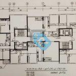 پلان-طبقه-پانزدهم--پروژه-بانک-ملی-مشتورین-مسکن-رسام