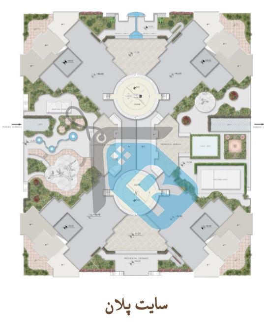 پلان پروژه نخل-شمیم رحمت3-مشاورین مسکن رسام